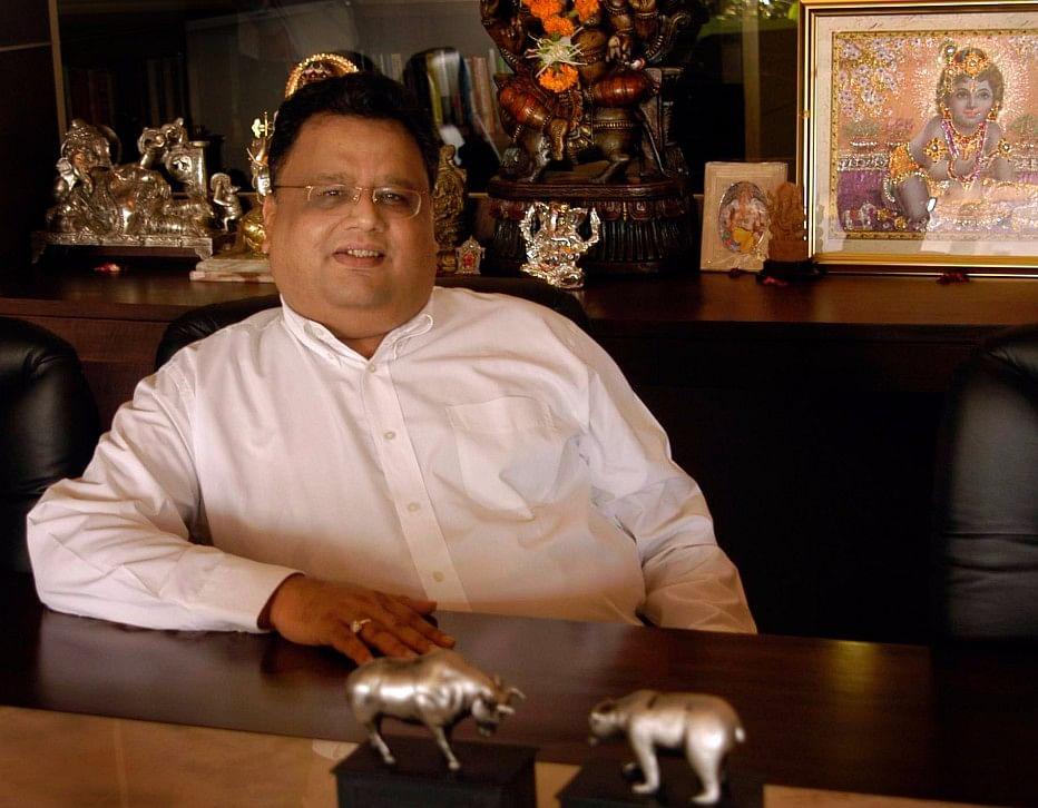 Private investor Rakesh Jhunjhunwala. (Photographer: Santosh Verma/Bloomberg News)