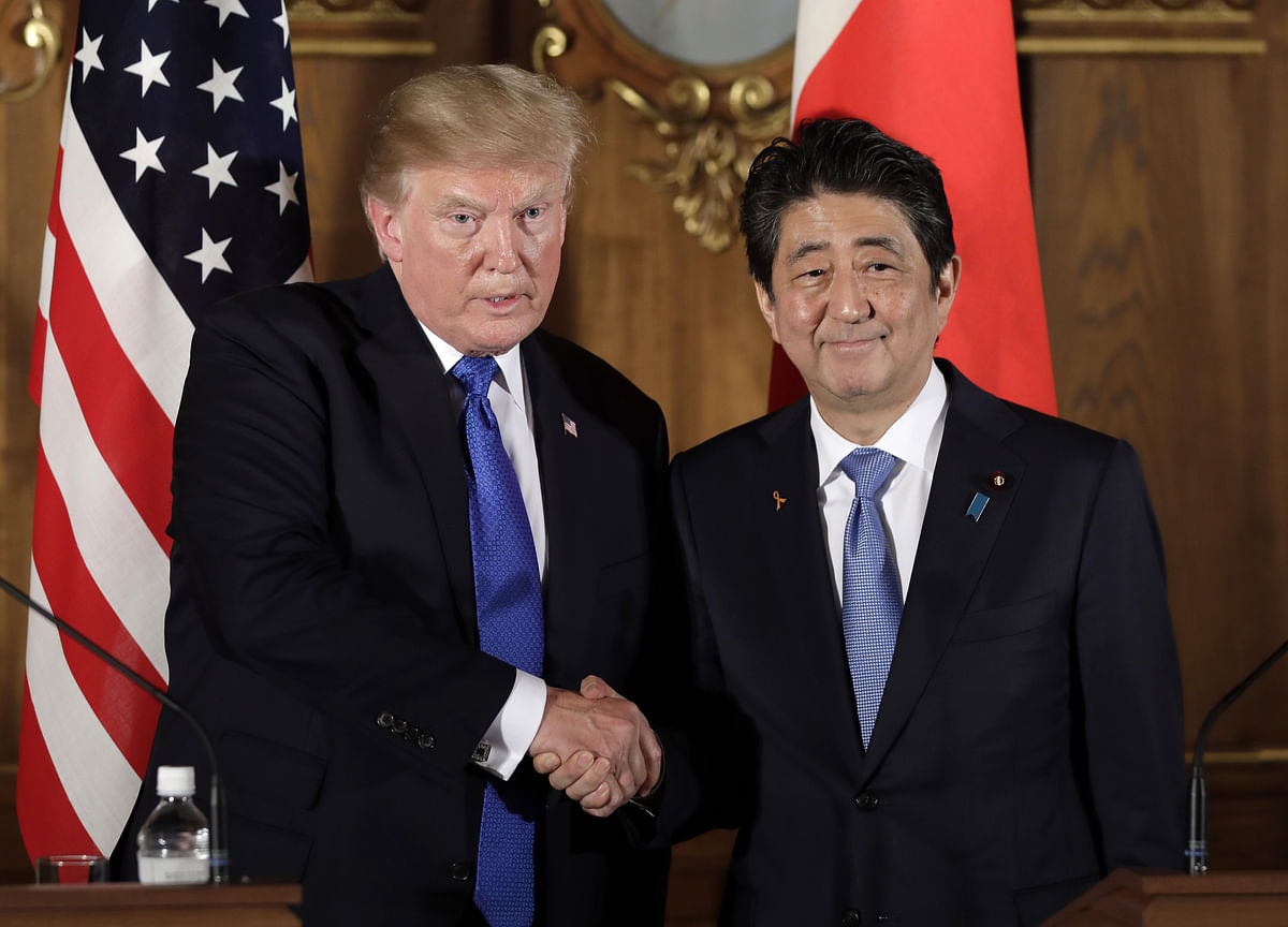 Trump's Tokyo Visit Seen Unlikely to Yield U.S.-Japan Trade Pact