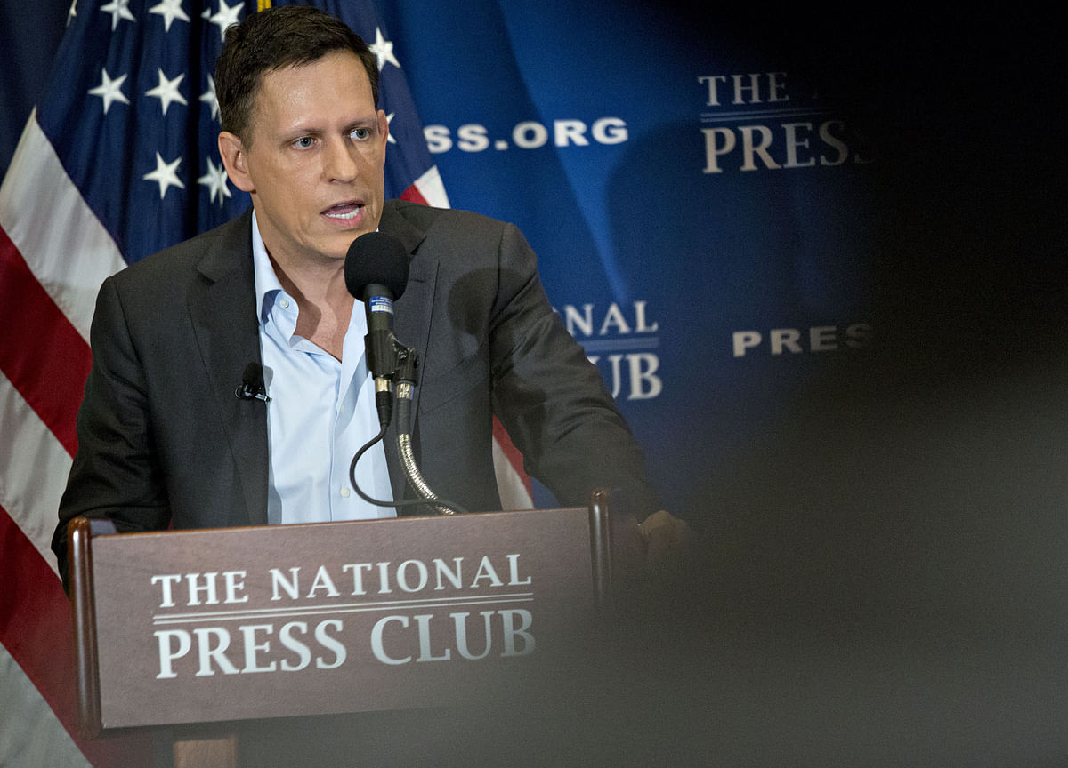 Google Critic Thiel Gave Money to Official Probing Search Giant