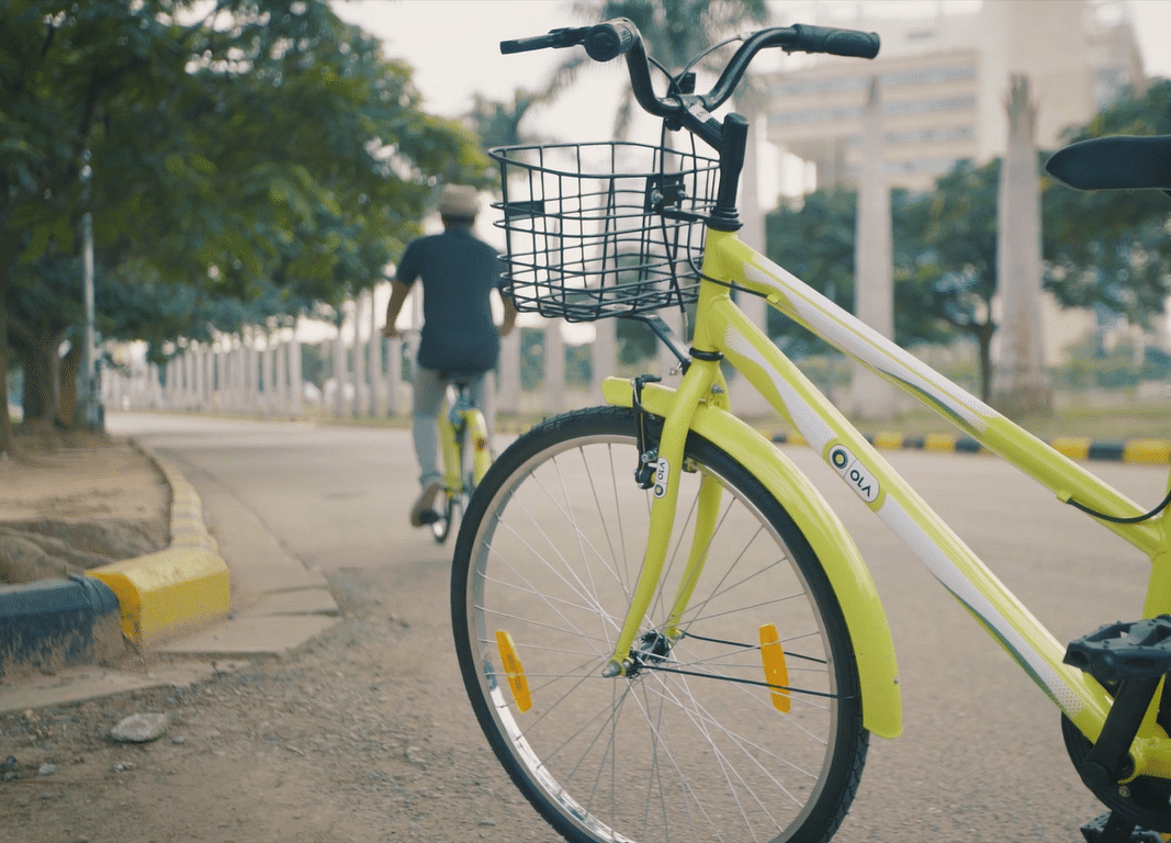 India's Ride-Hailing Giant Ola Will Now Rent Out Bicycles