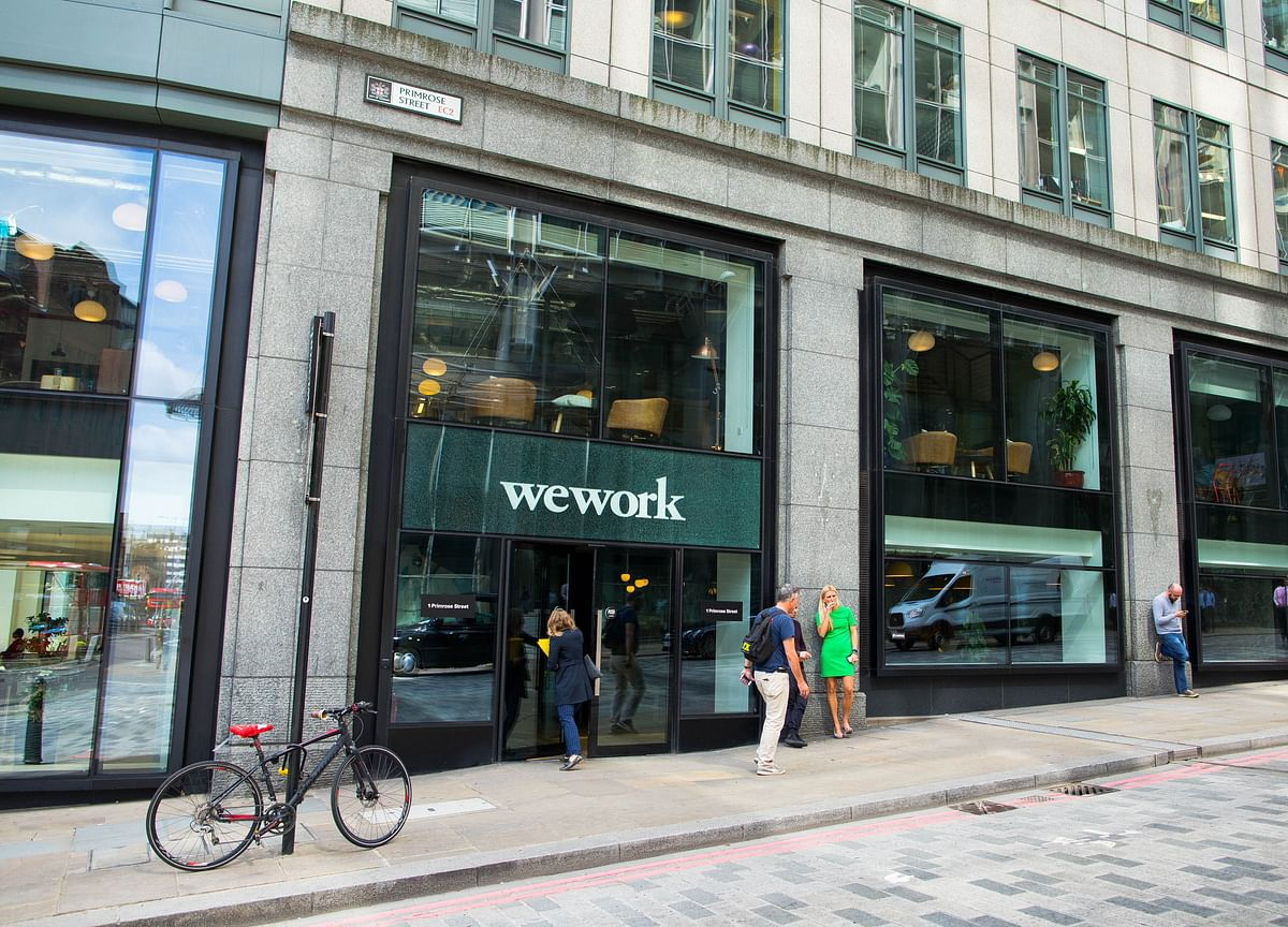 WeWork's Chinese Rival Nixes `UrWork' Label in Global Makeover