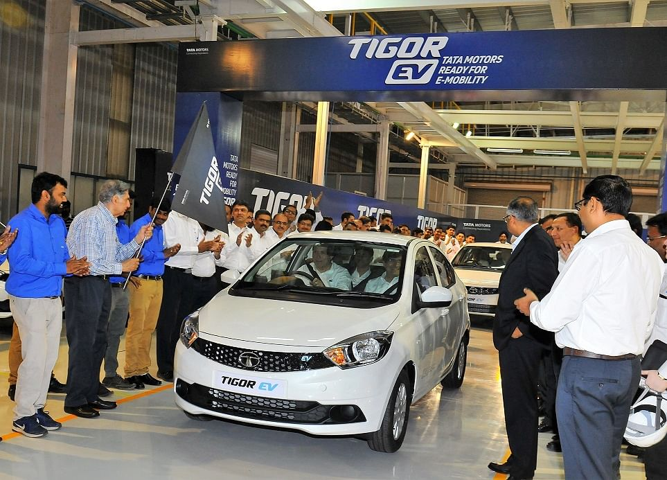 Tata Tigor EV Prices Reduced By Up To Rs 80,000 After GST Rate Cut