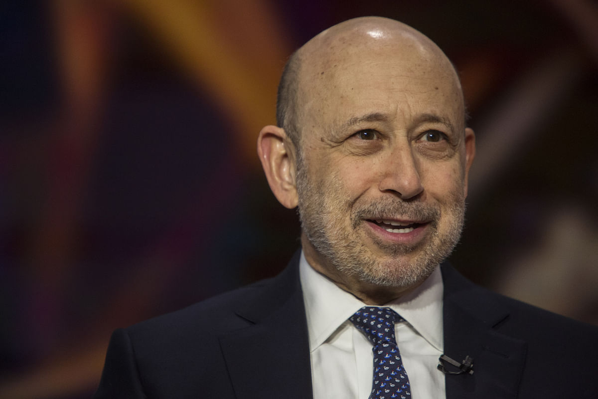 Blankfein Photo Gets Traders Talking Again About Twitter Takeout