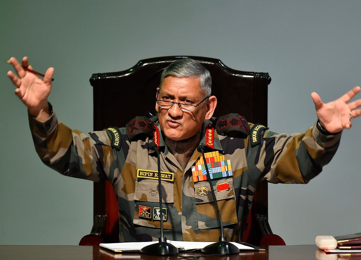 Balakot Camp Reactivated By Pakistan, Says Army Chief Rawat