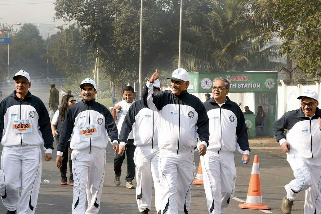 National Insurance In Association With Kolkata Police Presented The SDSL Half Marathon In Kolkata