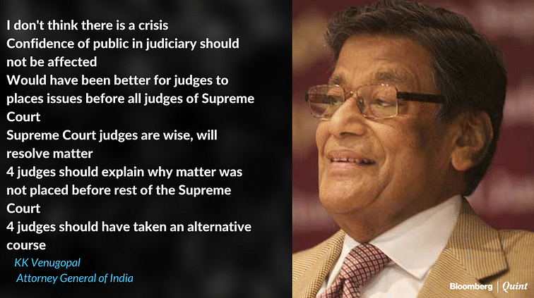 Supreme Court In Turmoil After Four Judges Speak Out Against Chief Justice Of India
