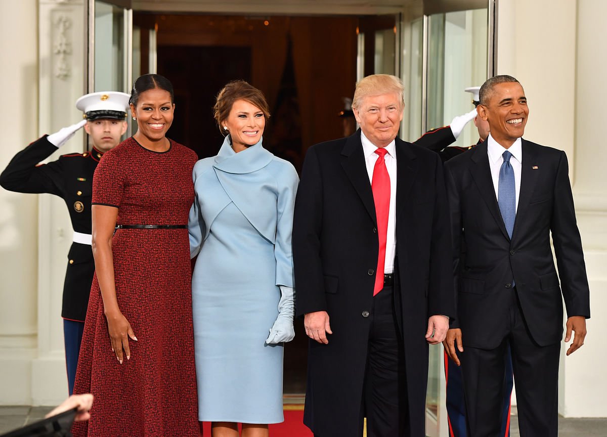 Obamas Top the Trumps as America's Most Admired People