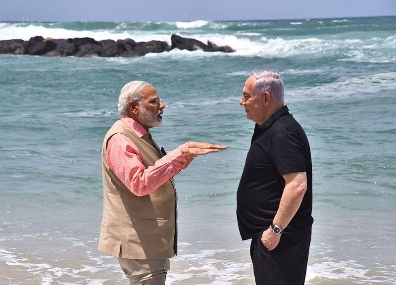 Budding Israel-India Romance Tested by Modi's Balancing Act