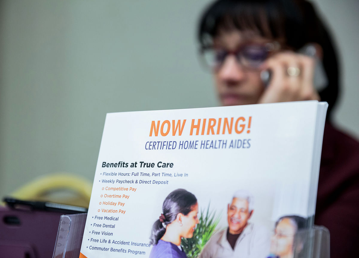 U.S. Hiring at 2019 Finish Line Seen Right Around Decade Average