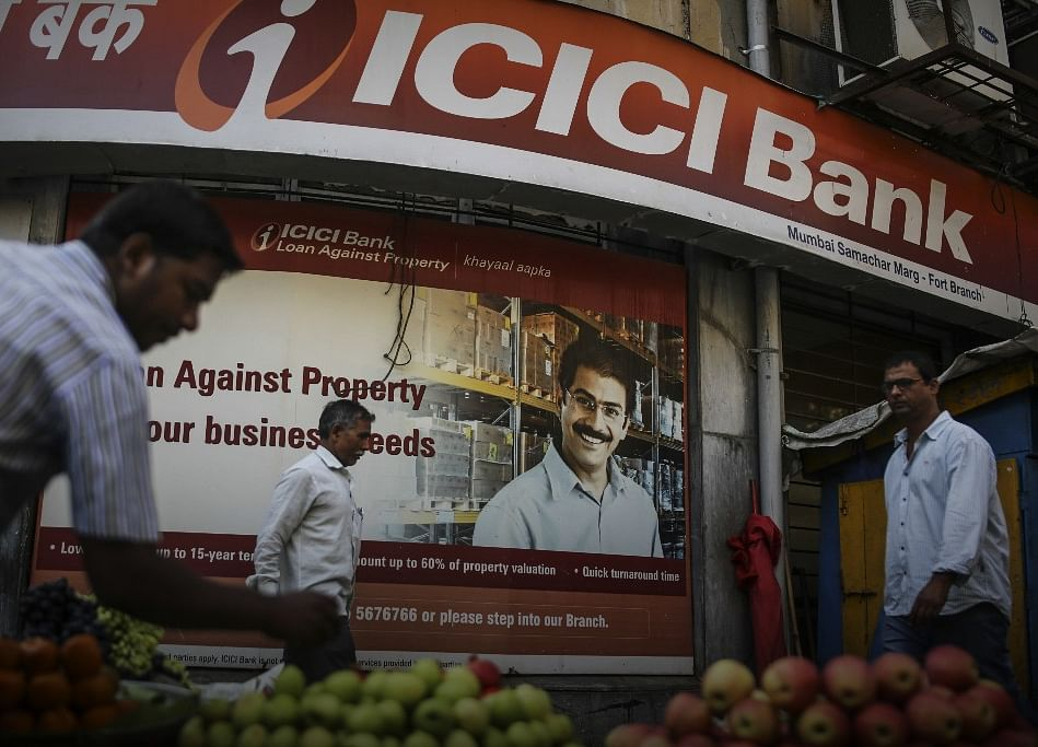ICICI Bank Surges As Corporate-Focused Lenders Catch Up