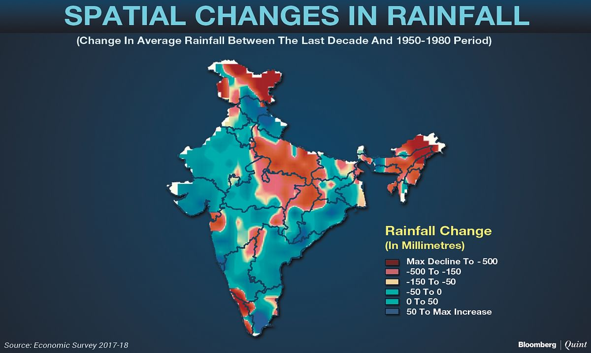 Economic Survey: Climate Change May Cost Farmers Quarter Of Their Income