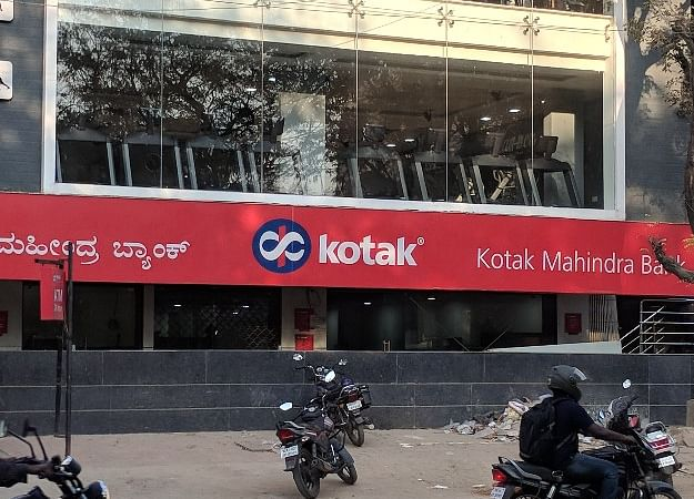 Kotak Mahindra Bank Gains After Block Deal