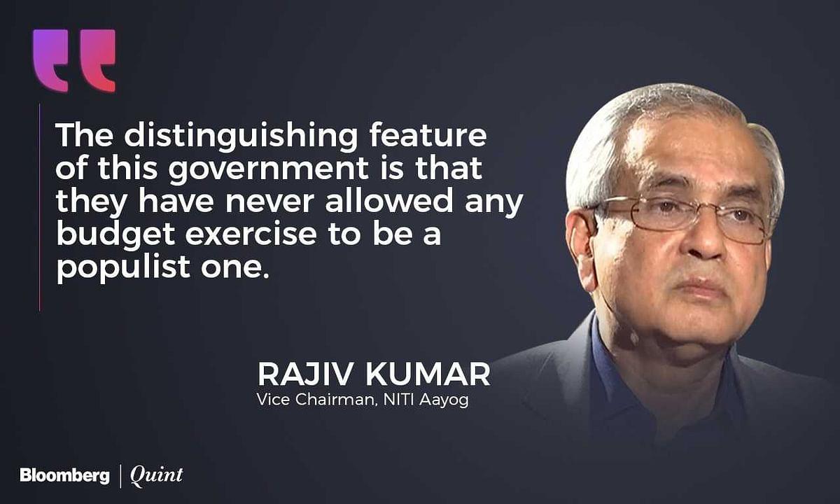 [Filler] Rajiv Kumar Quote