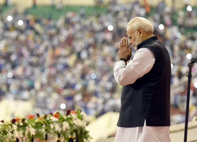 Modi to Woo Voters With Welfare Plan for 500 Million Indians