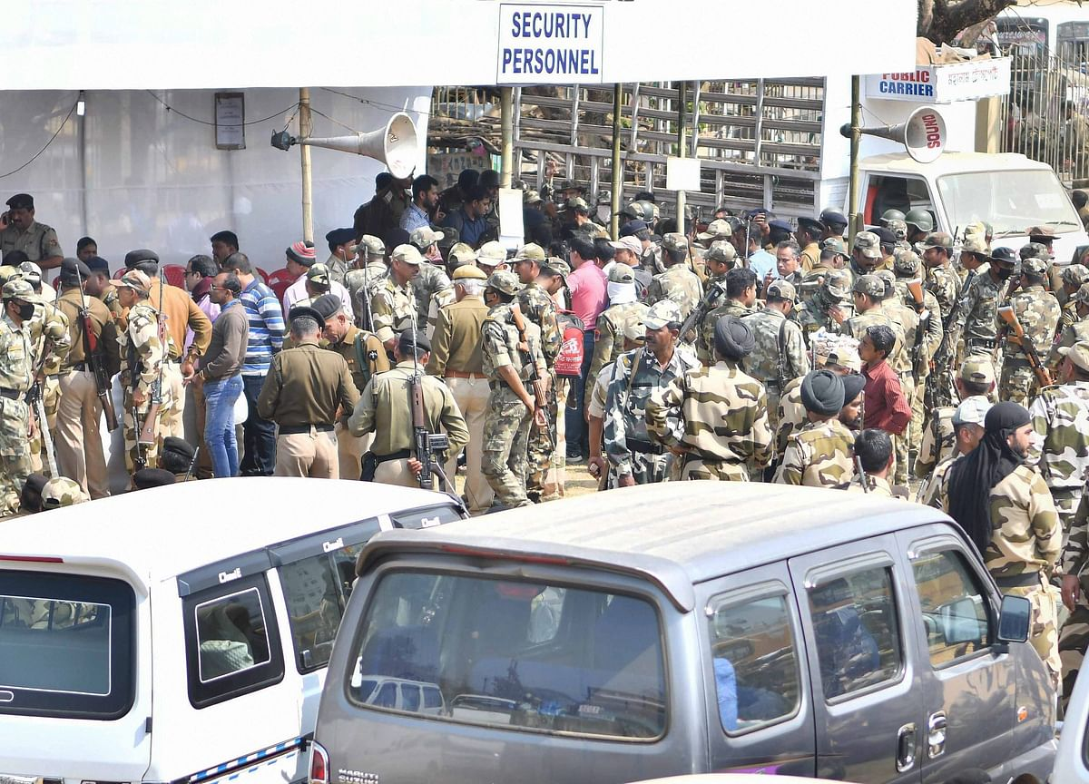 Election 2019: 2.7 Lakh Paramilitary, 20 Lakh State Police Personnel Deployed For Lok Sabha Polls