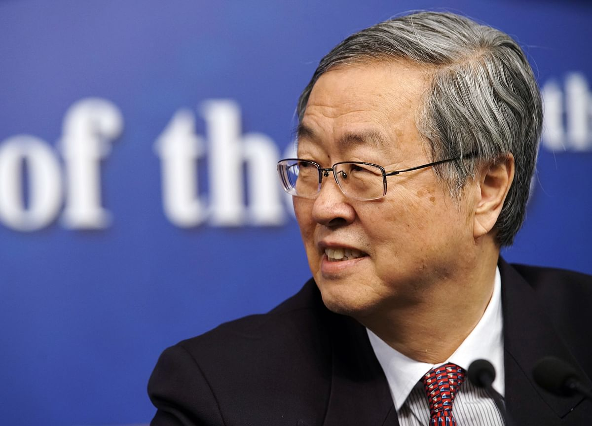 Nearing Term End, PBOC Chief Says China's Opening Can Be Bolder