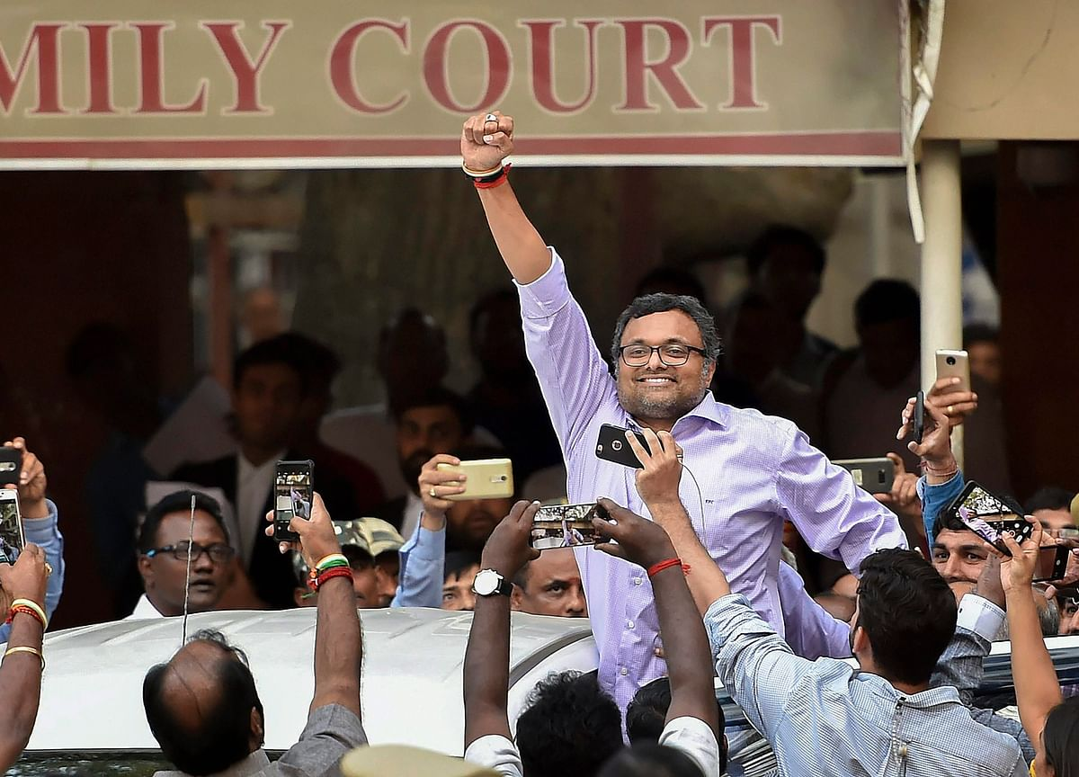INX Media Case: Karti Chidambaram Challenges Notice To Vacate Jor Bagh House In Delhi
