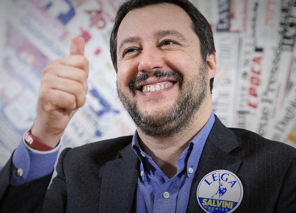 Salvini Pulls Rank After Trouncing Five Star in EU Vote