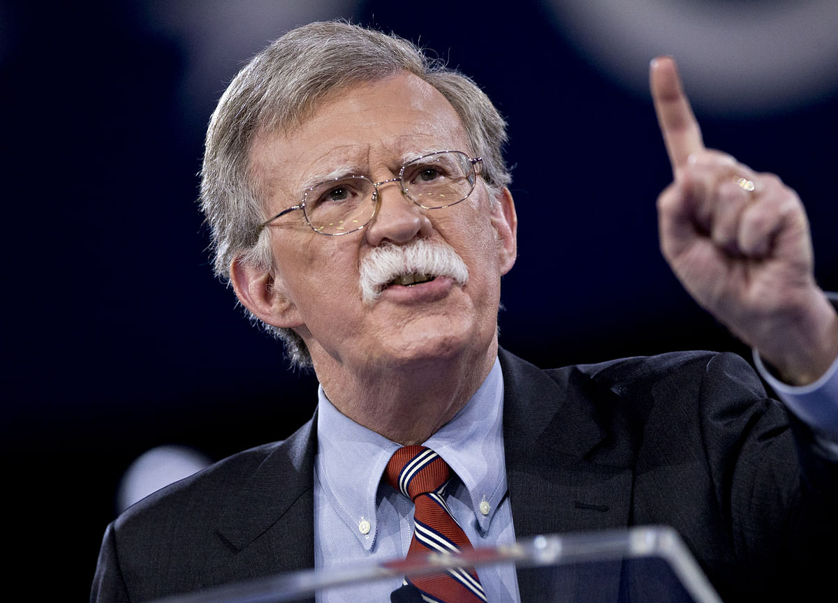Trump Ousts Bolton After Dispute Over Negotiating With Taliban