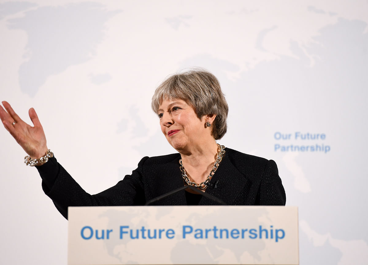 Theresa May Tells Her Tories to Get Real in Key Brexit Speech