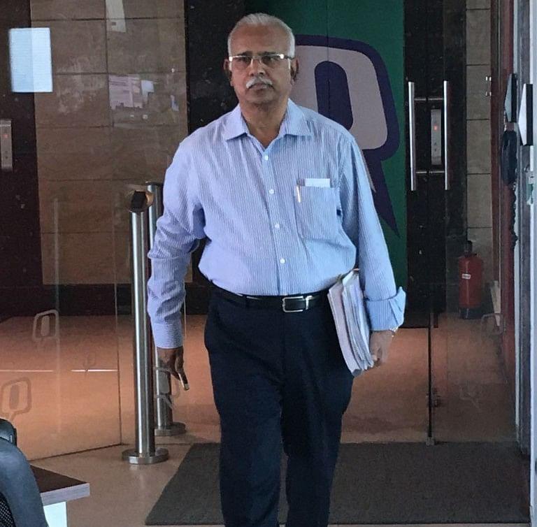 Whistleblower and investor Arvind Gupta. (Photographer: Vijendra Singh/The Quint)