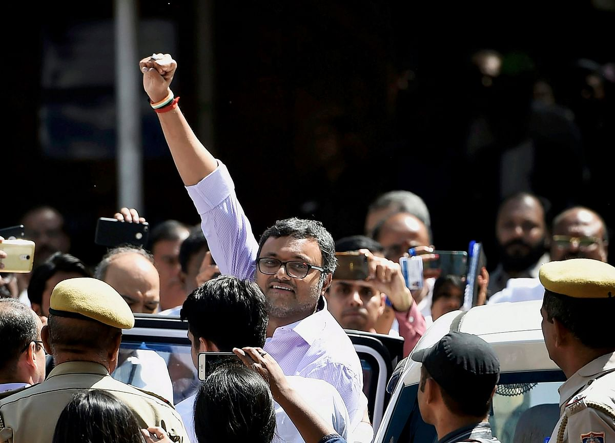 Karti Chidambaram Moves Supreme Court To Refund Rs 10 Crore Deposited To Travel Abroad