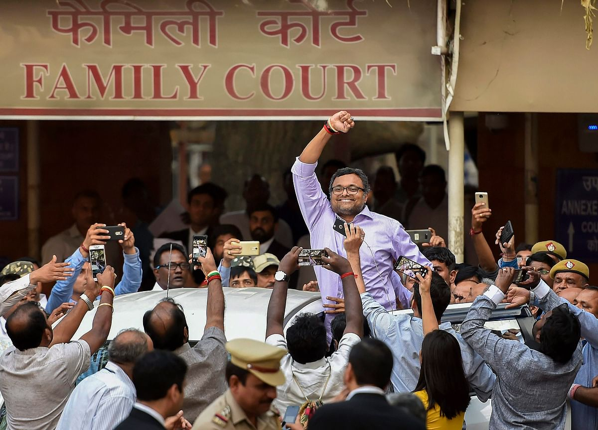 Supreme Court Allows Karti Chidambaram To Withdraw Rs 20 Crore Deposited For Travelling Abroad