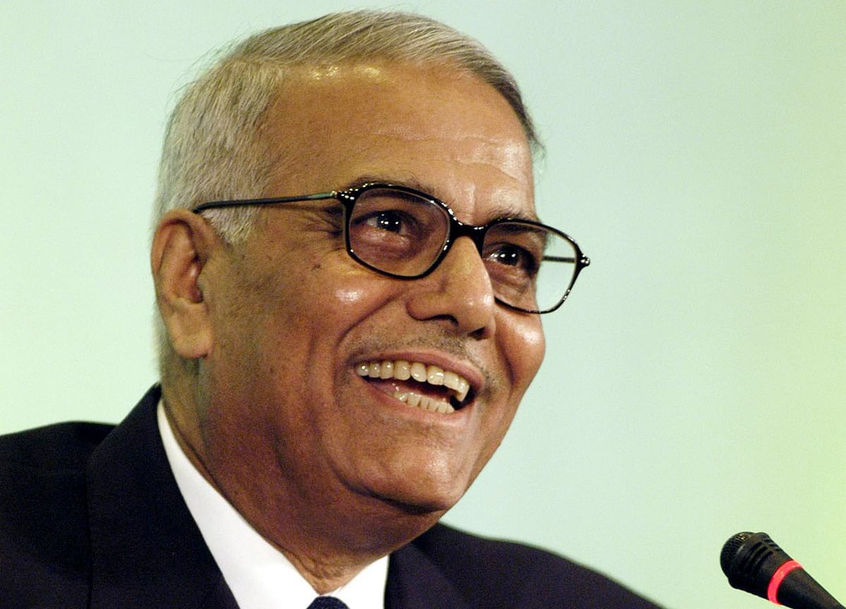 Budget 2019: People Will Vote For Anybody  But BJP, Says Former Minister Yashwant Sinha