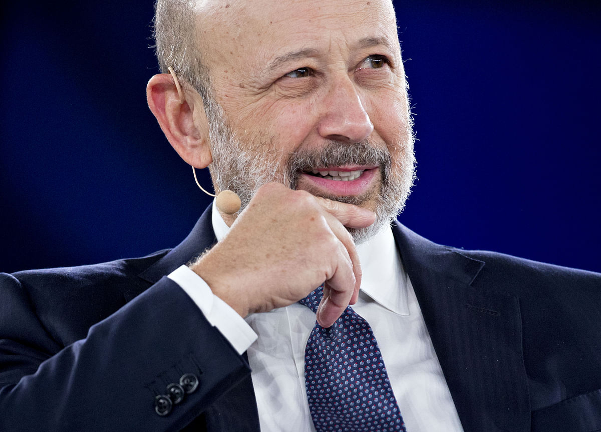 Blankfein Says Report of His Departure Didn't Come From Him