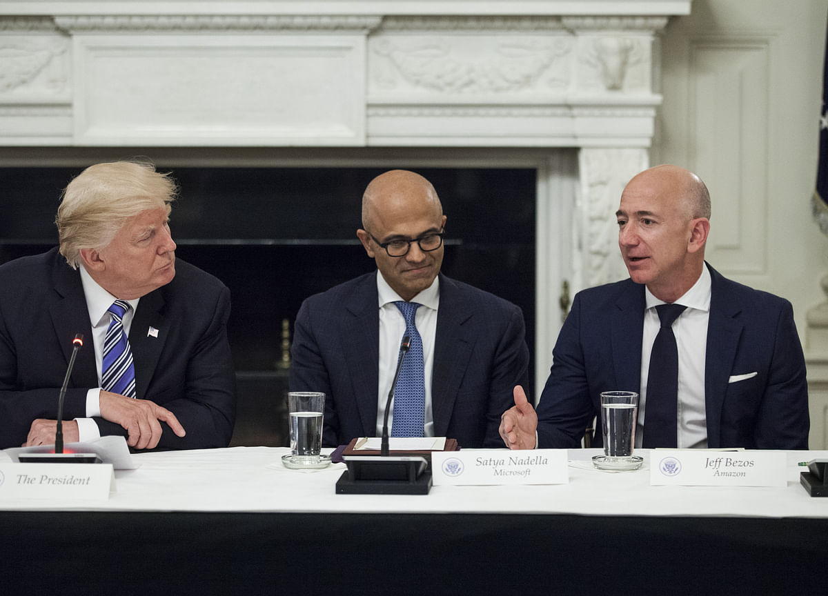 Amazon's Fast Track to Pentagon Deal Derailed by Trump, Rivals