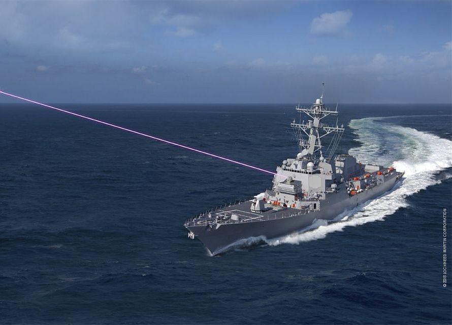 The Navy Wants a Laser to Blow Drones Out of the Sky