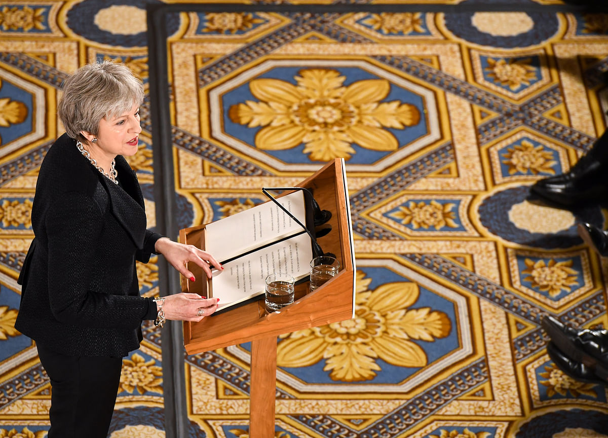 May's Red Lines Begin to Blur Even as She Clings to Brexit Dream