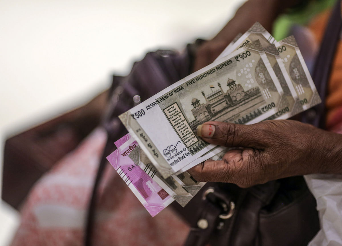 Rupee Jumps The Most In Three Weeks