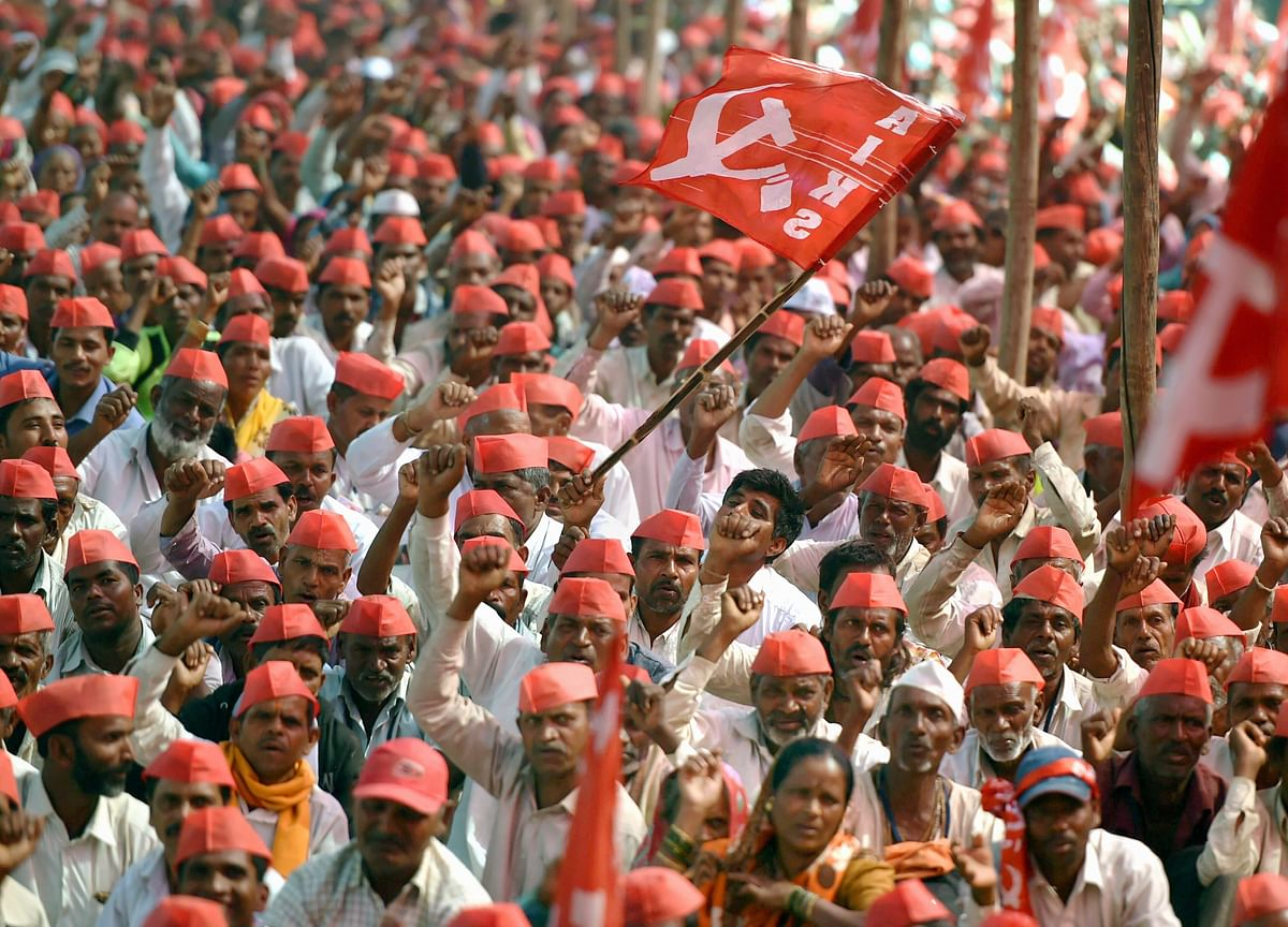 Farmers Continue To March Towards Mumbai As Talks Remain Inconclusive