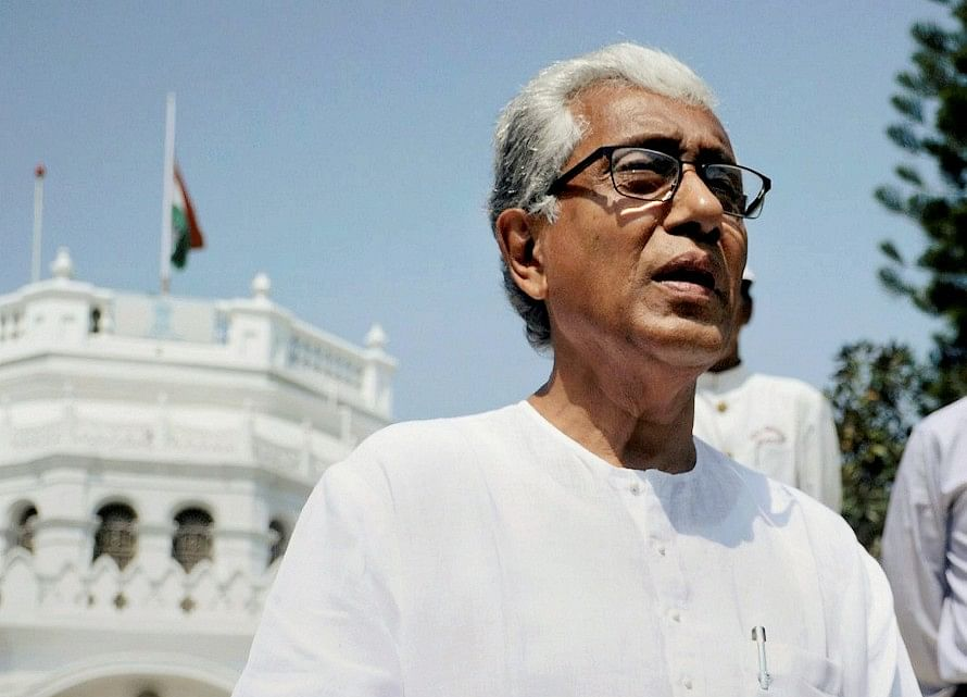 Manik Sarkar Resigns As Tripura Chief Minister