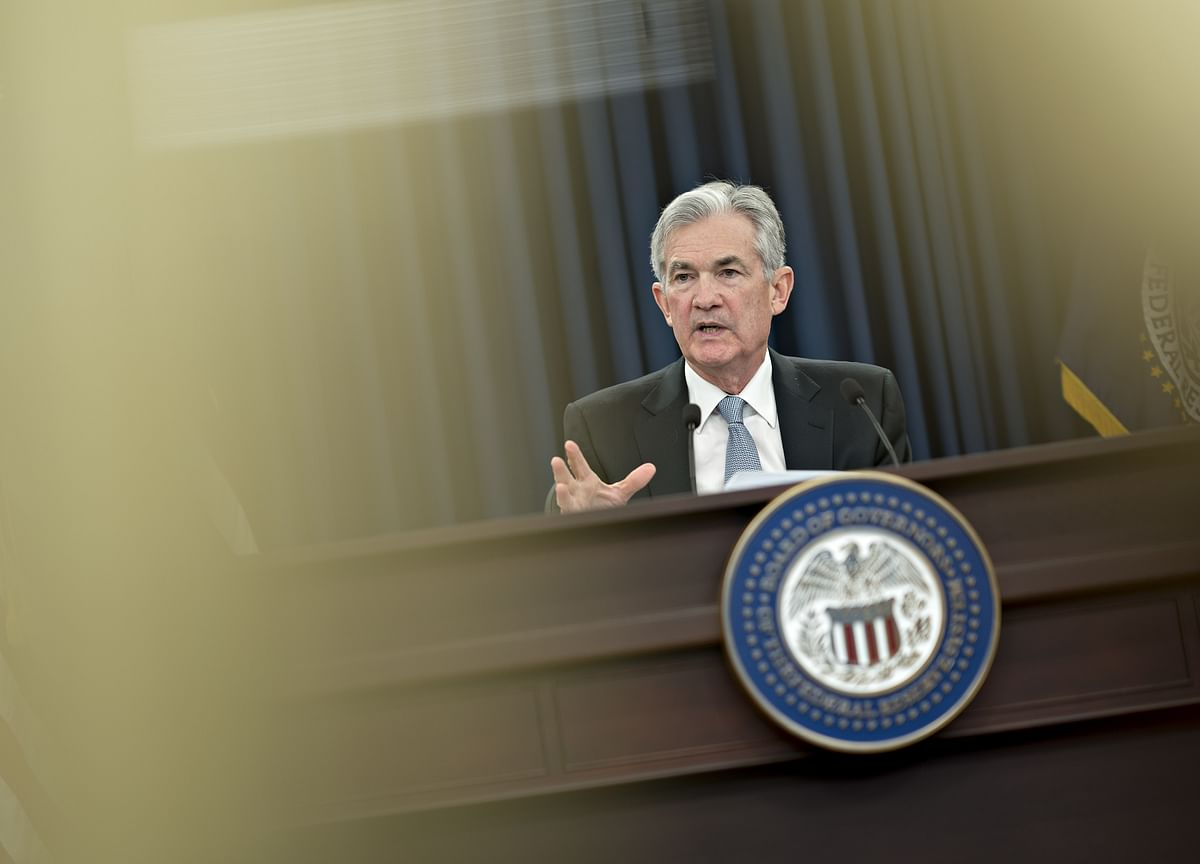 Powell Lauds Economy as Fed Nudges Up Interest-Rate Hike Path