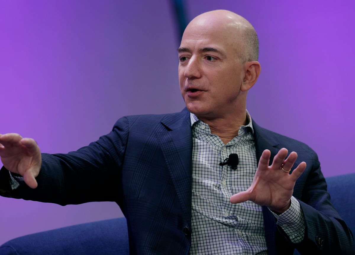 Amazon Will 'Continue to Support' Defense Department, Jeff Bezos Says