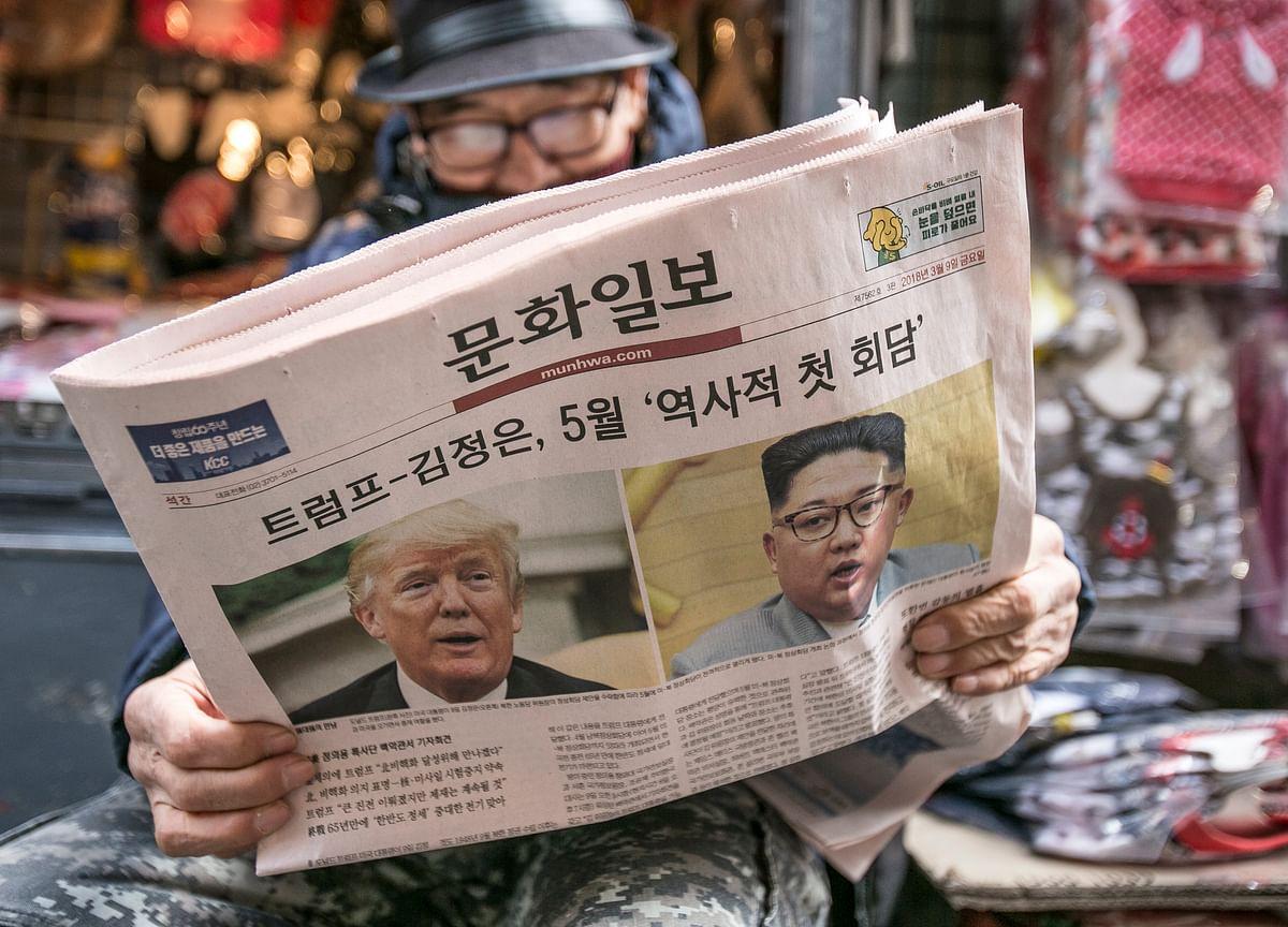 Trump Cancels Summit With North Korea's Kim, Citing `Hostility'