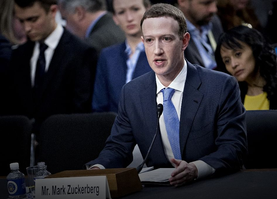 Facebook CEO Mark Zuckerberg Testifies To  U.S. Congress For The First Time