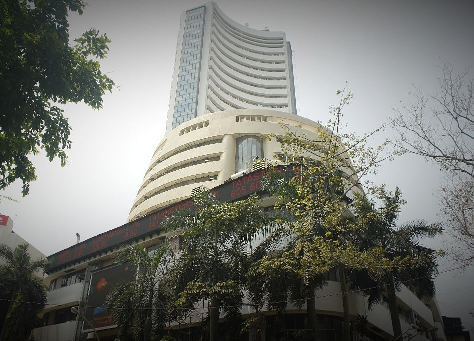 Sensex, Nifty End At Record; HDFC AMC Jumps 65% On Debut