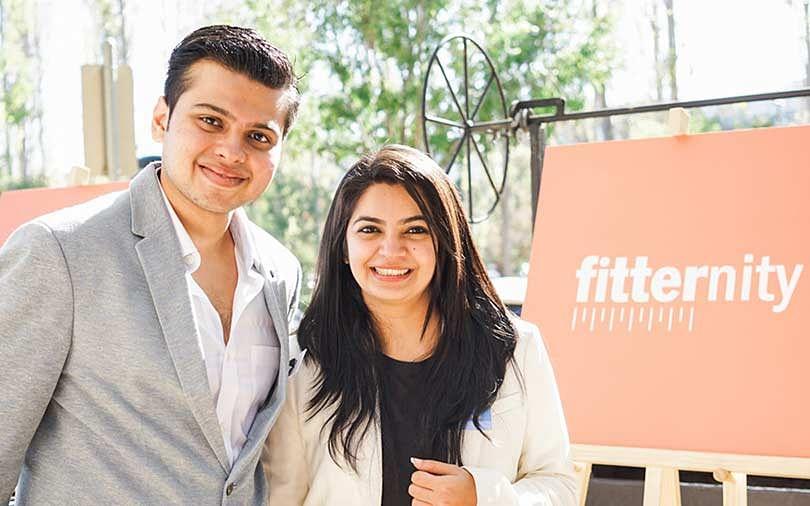 Jayam Vora and Neha Motwani, co-founders, Fitternity. (Source: Fitternity)