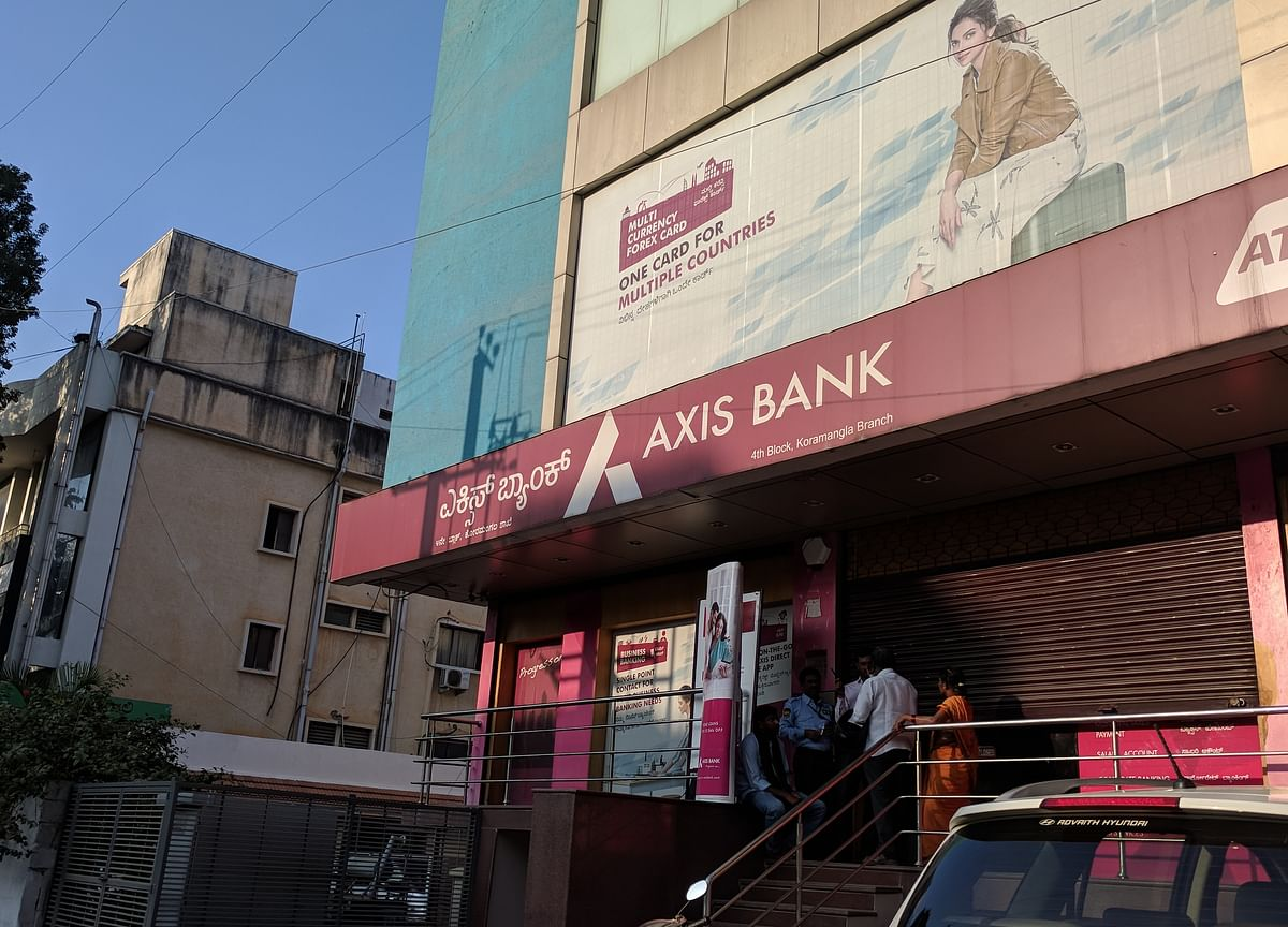 First Loss Means Worst Is Over for Axis Bank as Shares Surge