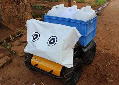 This Water-Carrying Robot Could Solve Rural India's Water Woes