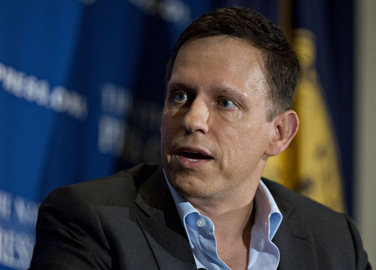 Peter Thiel Says Trump Is the Republican Who Isn't a 'Zombie'