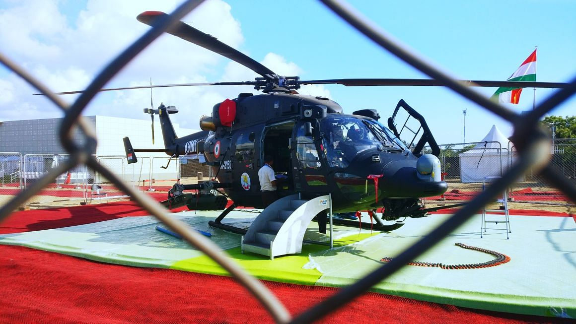 Rudra, manufactured by HAL, is India's first indigenous armed helicopter. (Source: BloombergQuint)