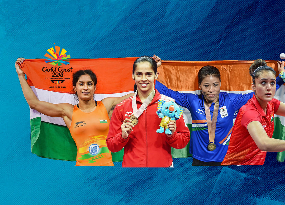 2018 CWG Wrap: 66 Medals For India, Here Are All The Medallists