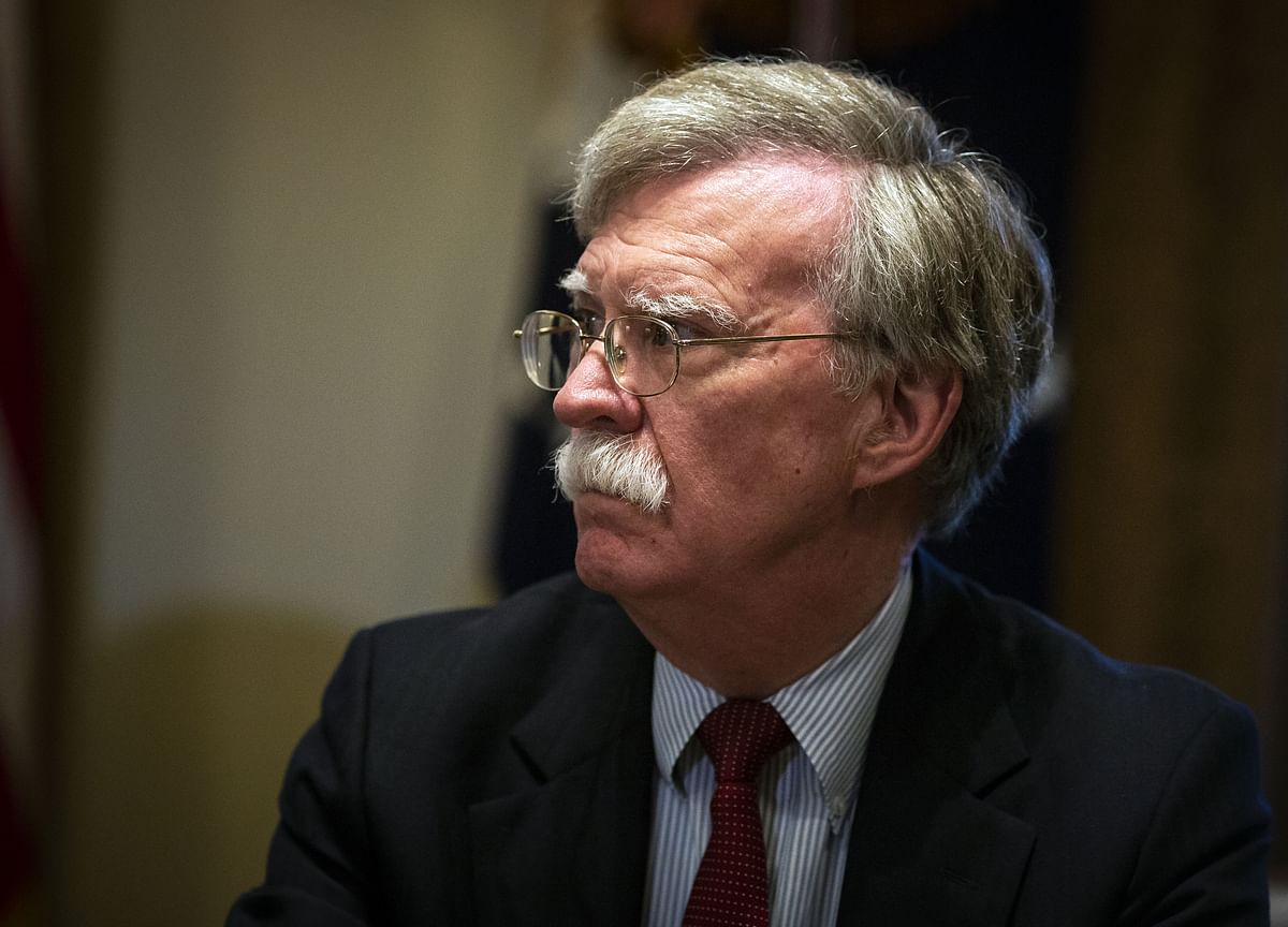 Bolton Presses White House in Standoff Over Ukraine Chapter