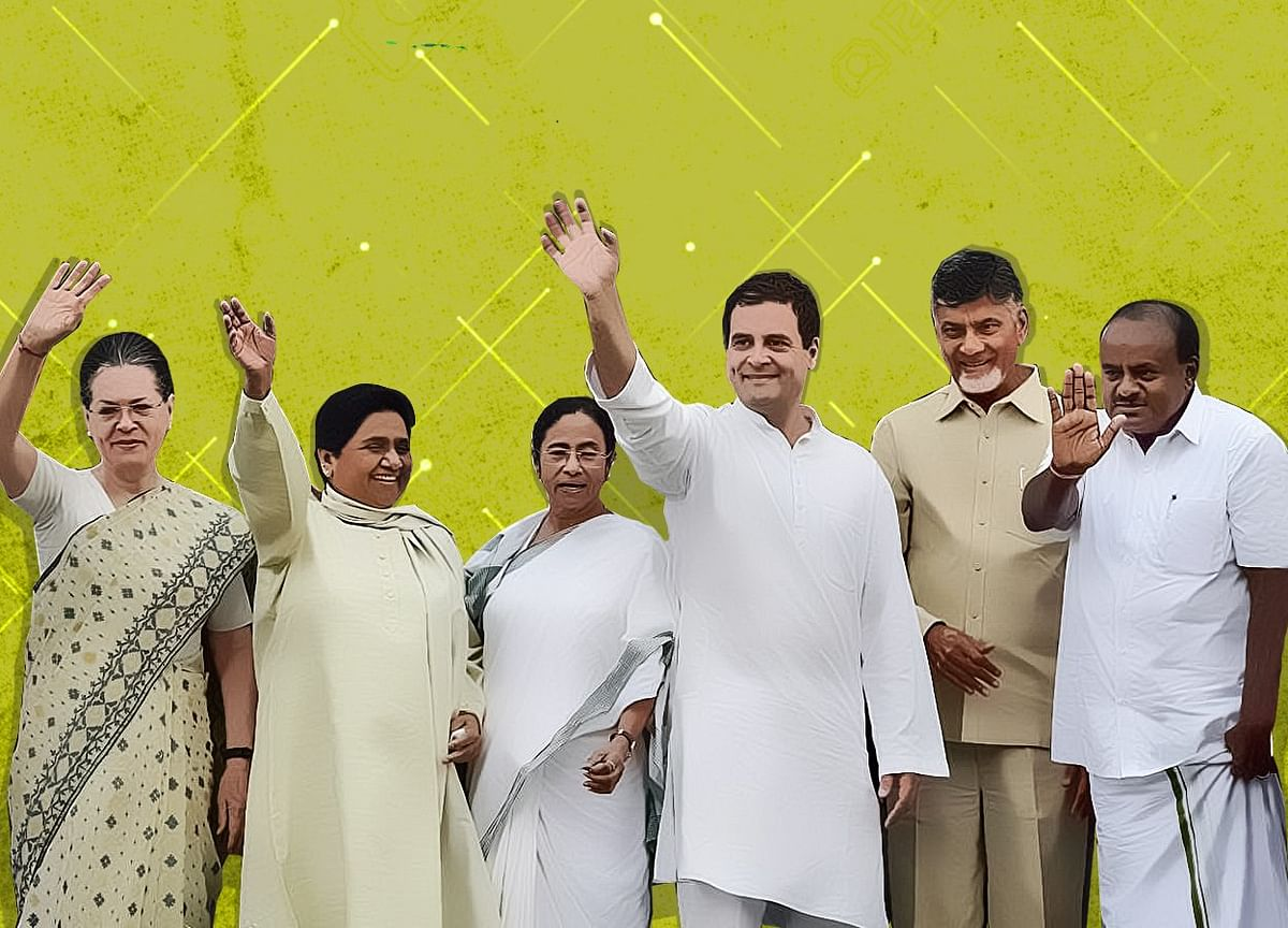 Karnataka Poll Drama Concludes With an Unlikely 'Family Portrait'