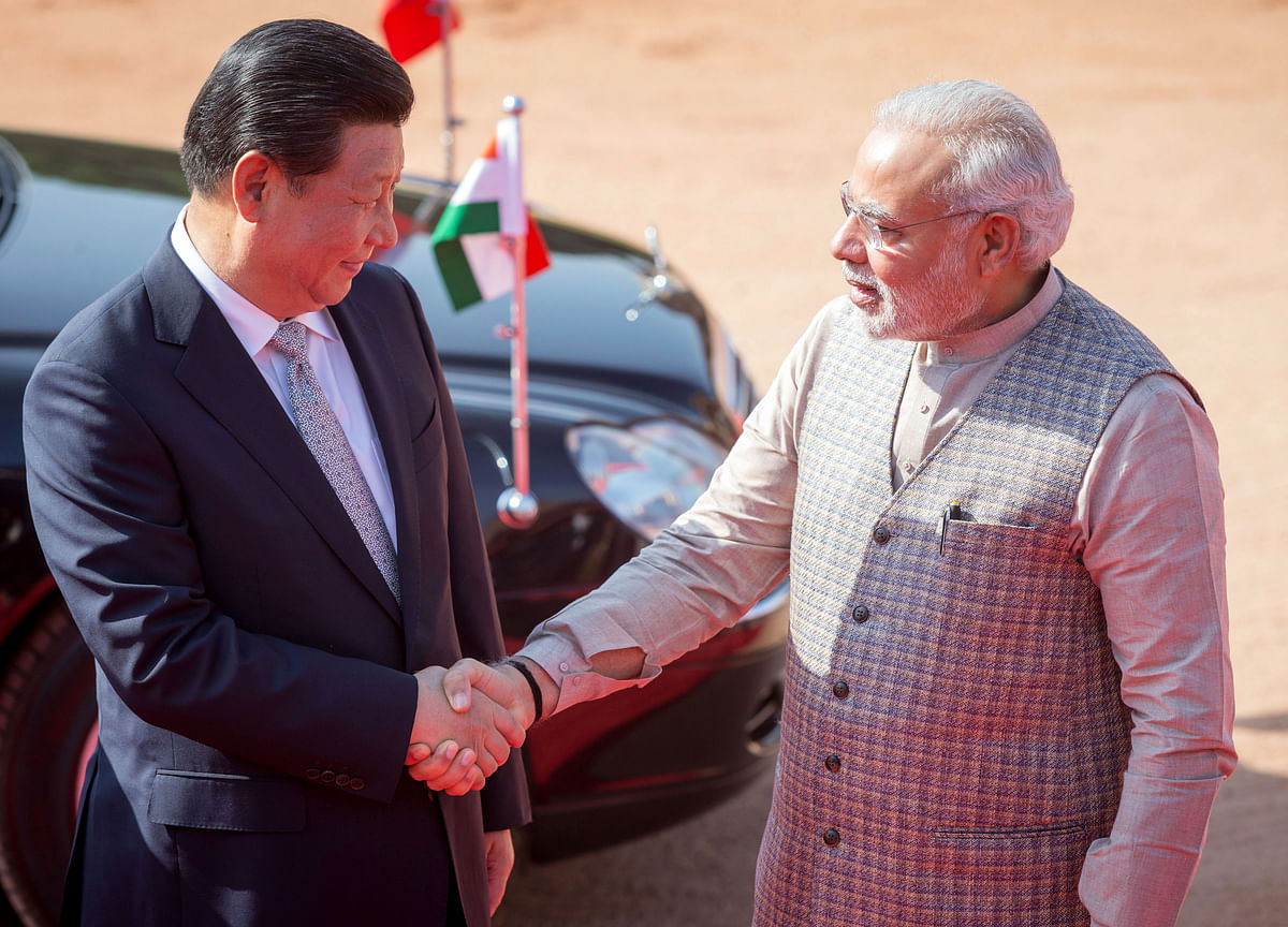 China Counters Trump by Mending Fences From Japan to India