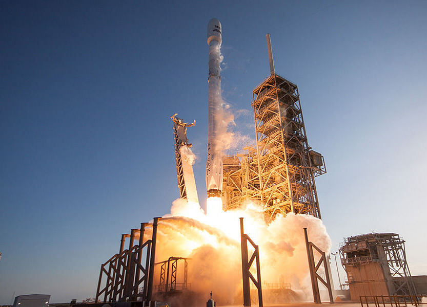 Elon Musk's SpaceX Debuts Rocket Built for Rapid Relaunches